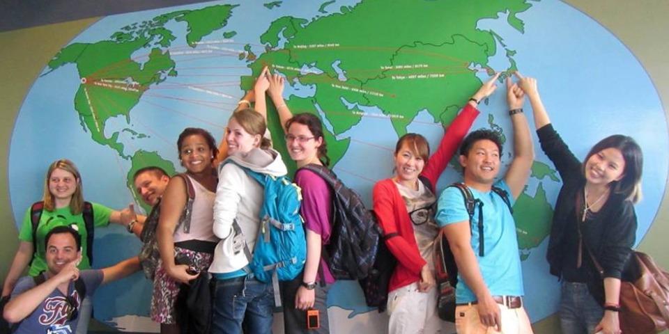 ISI国際学院 ジュニア 中高生 短期留学 カナダ モントリオール 学校 クラスメイト