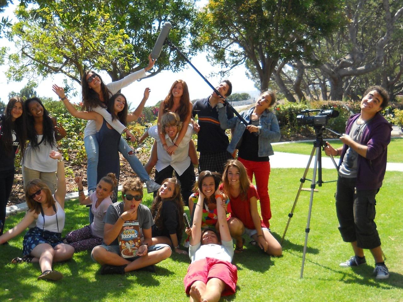 アメリカ・カリフォルニア 英語+シネマキャンプ