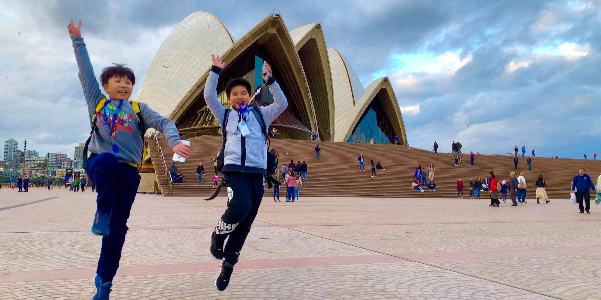 ISI国際学院 ジュニア留学 中学生向け 高校生向け 中高生向け 夏休み 短期 留学 オーストラリア シドニー サマーキャンプ ボーディングスクール 寮滞在 ホームステイ