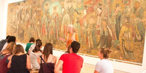 ISI国際学院 ジュニア 中高生 短期留学 カナダ トロント アクティビティ 博物館 美術館 絵画 遠足