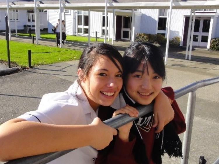 中学生高校生春休み短期語学留学 オークランド近郊 現地校体験
