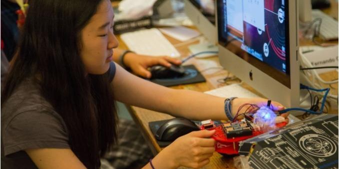ISI国際学院ジュニア中高生短期留学 スタンフォード大学STEMキャンプ