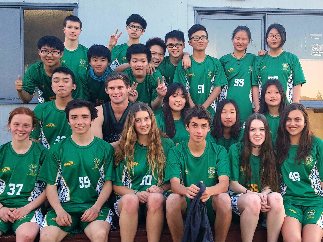 ニュージーランド高校留学 オークランド 公立共学 ウエスタンスプリングスカレッジ Western Springs College ホームステイ 日本人サポート