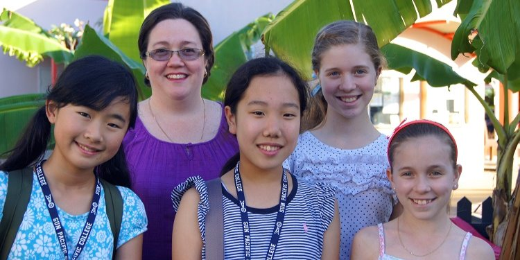 ISI国際学院ジュニア中高生の短期留学 オーストラリアSunPacificCollegeサンパシフィックカレッジ