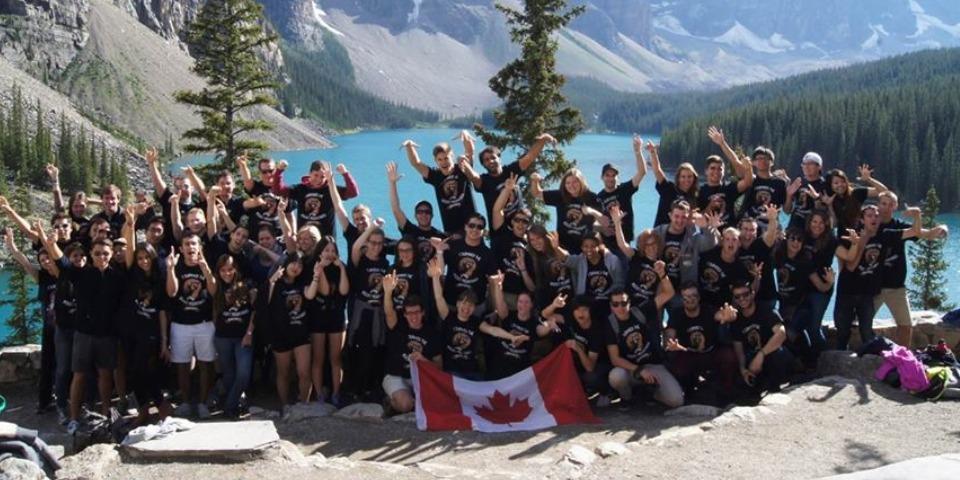 ISI国際学院 ジュニア 中高生 短期留学 カナダ モントリオール 景色 アクティビティ 遠足 湖 クラスメイト 友達 インターナショナルスチューデント