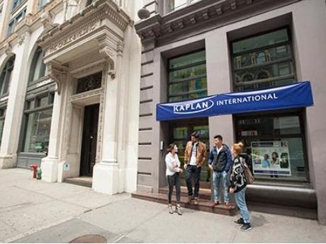 大学生 専門学校生 夏休み短期語学留学 アメリカ ニューヨークソーホー 英語レッスンビジネス英語TOEFLGRE対策 ホームステイレジデンス KAPLANカプラン NY