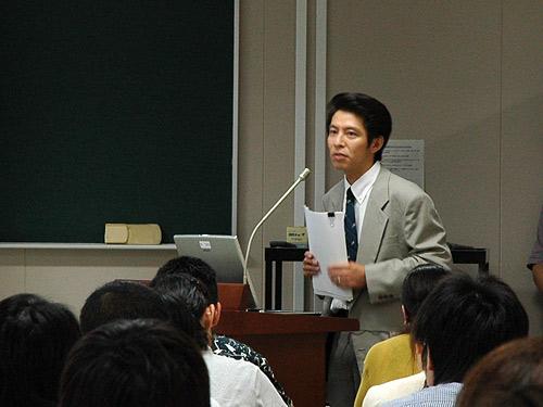 講師の大藤英明先生