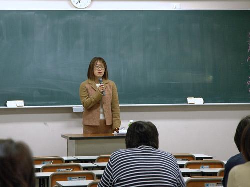 講師の池田敦子先生