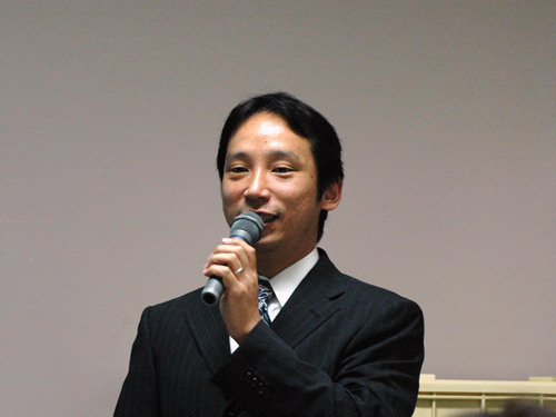 講師の北雄一朗先生