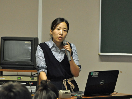 講師の太田有美先生