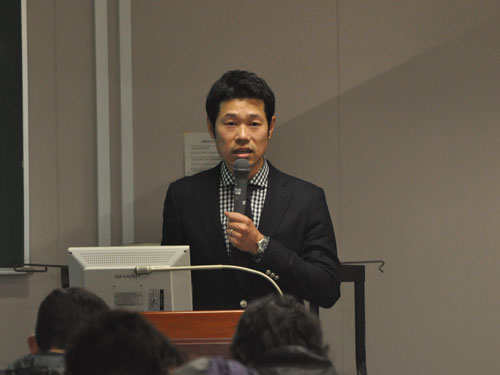 講師の江越正次朗先生