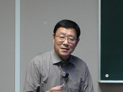 講師の溝田勝彦先生