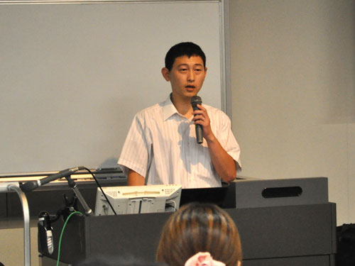 講師の菊竹広隆先生