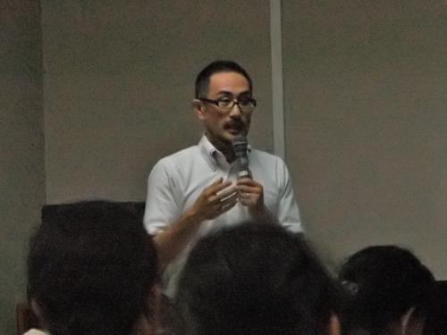 講師の大川内直木先生