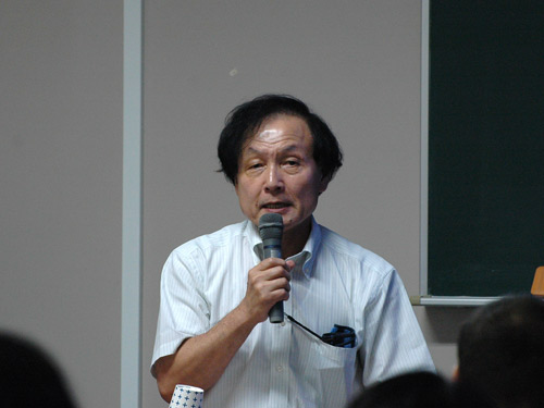 第2部講師の山根直寛先生