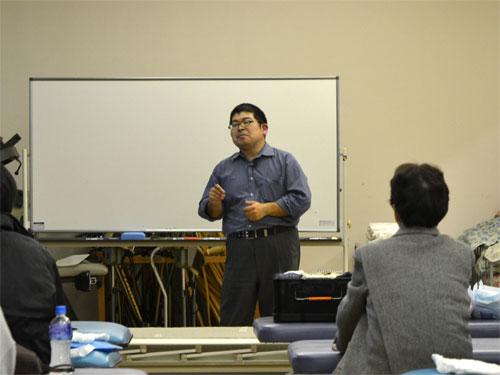 講師の櫻田喜之先生