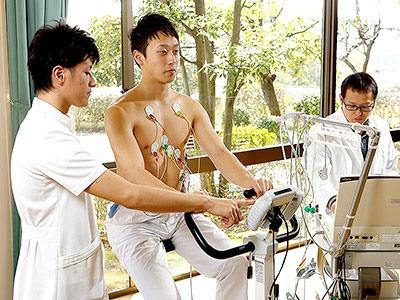 運動負荷心肺機能解析装置