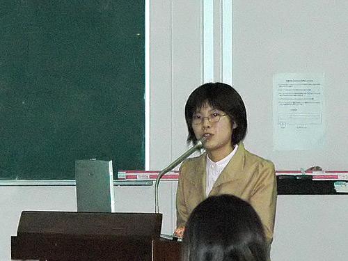 講師の辻川めぐみ先生