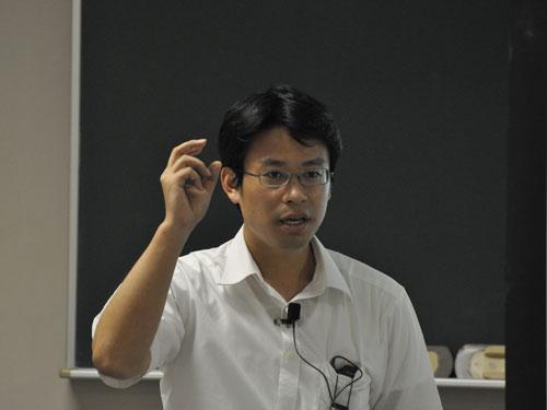 講師の西田裕一郎先生