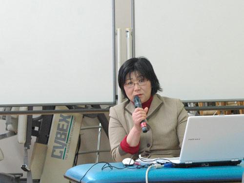 講師の大津幸子先生