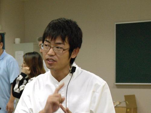 講師の島ノ江寿先生