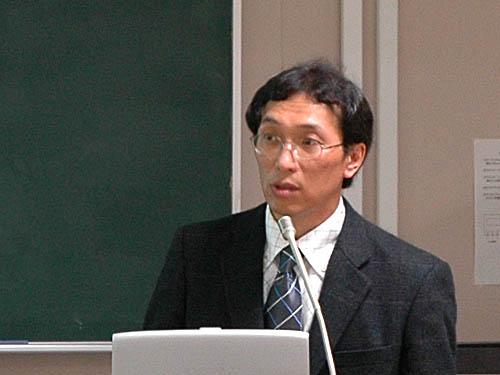 講師の松雪幹一先生