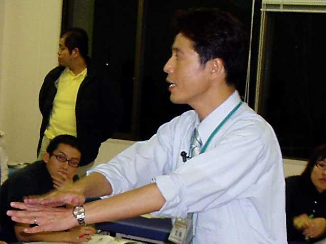 講師の北島栄二先生