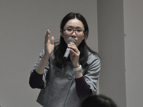 講師の村岡明美先生