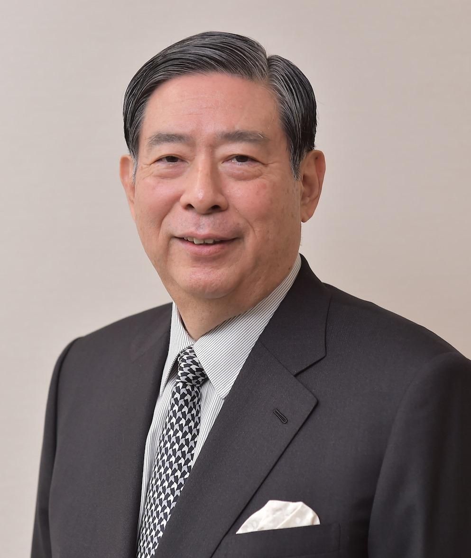 学長  北尾吉孝  / president  KITAO YOSHITAKA