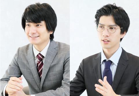 森田 駿介 さん/布施 宏明 さん