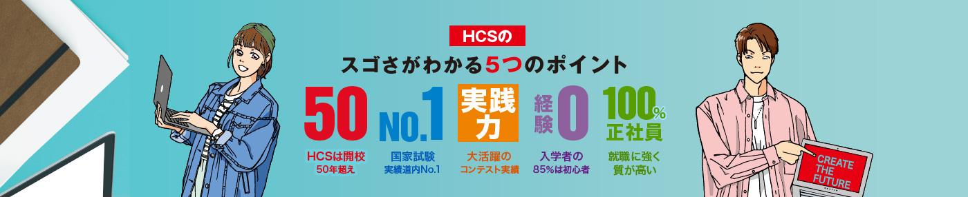 HCSのスゴさがわかる5つのポイント