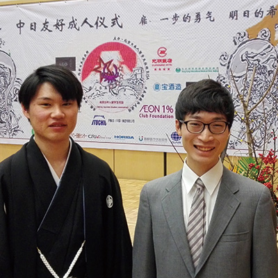 塚元さん(中国語主専攻 中国語副専攻)