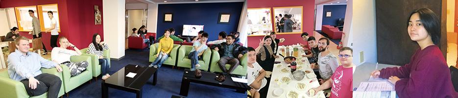 国際色豊かな寮で大学生活を丸ごと異文化体験