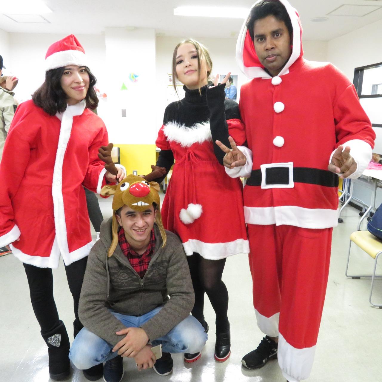 12月9日(日)クリスマスパーティー(テーマ:インターナショナル)