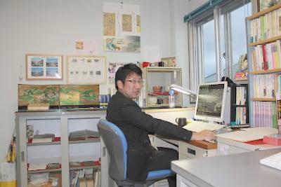 池田研究室への訪問