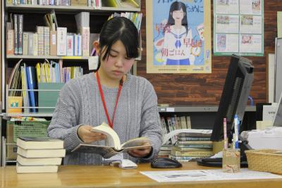 文教インターンシップ(図書館)