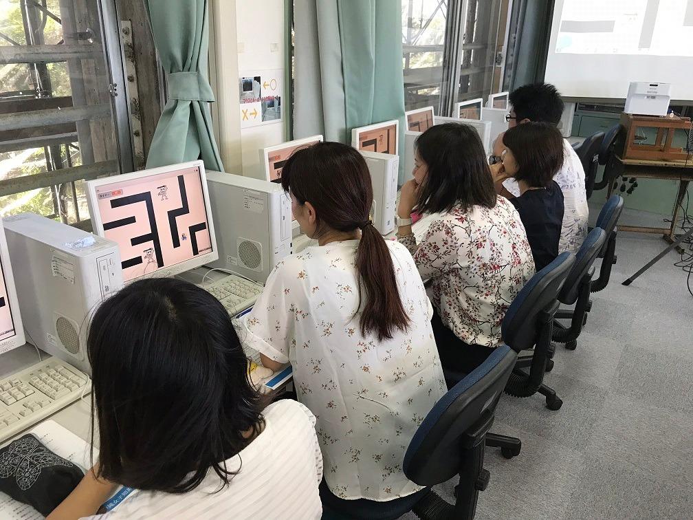 沖縄女子短期大学_プログラミング教育_比嘉勇太_大森洋介_新垣さき
