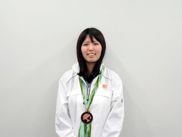技能五輪入賞の卒業生・両角さん