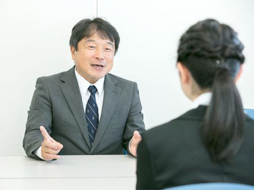就職指導部への相談