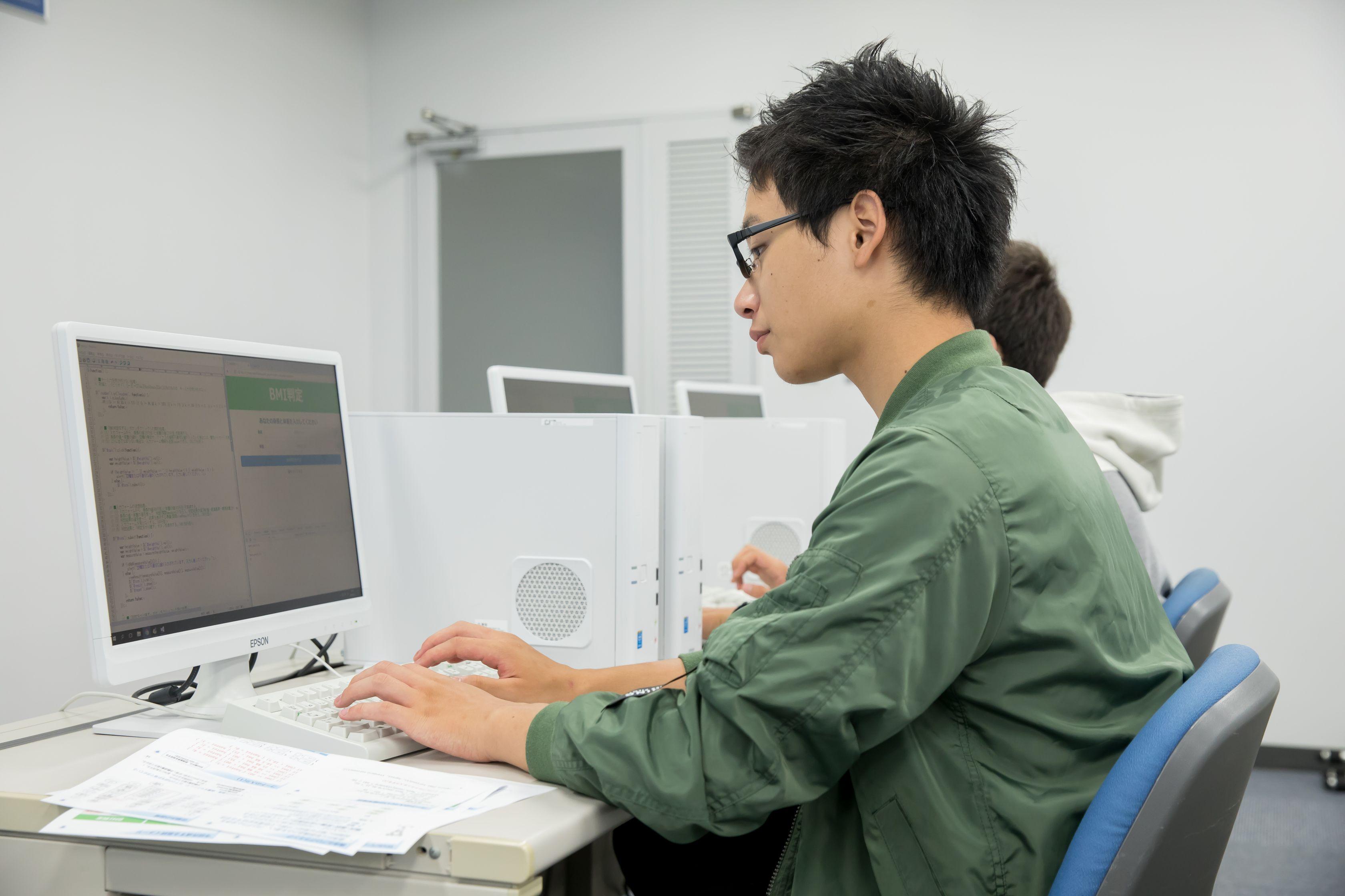 情報システム科授業風景02