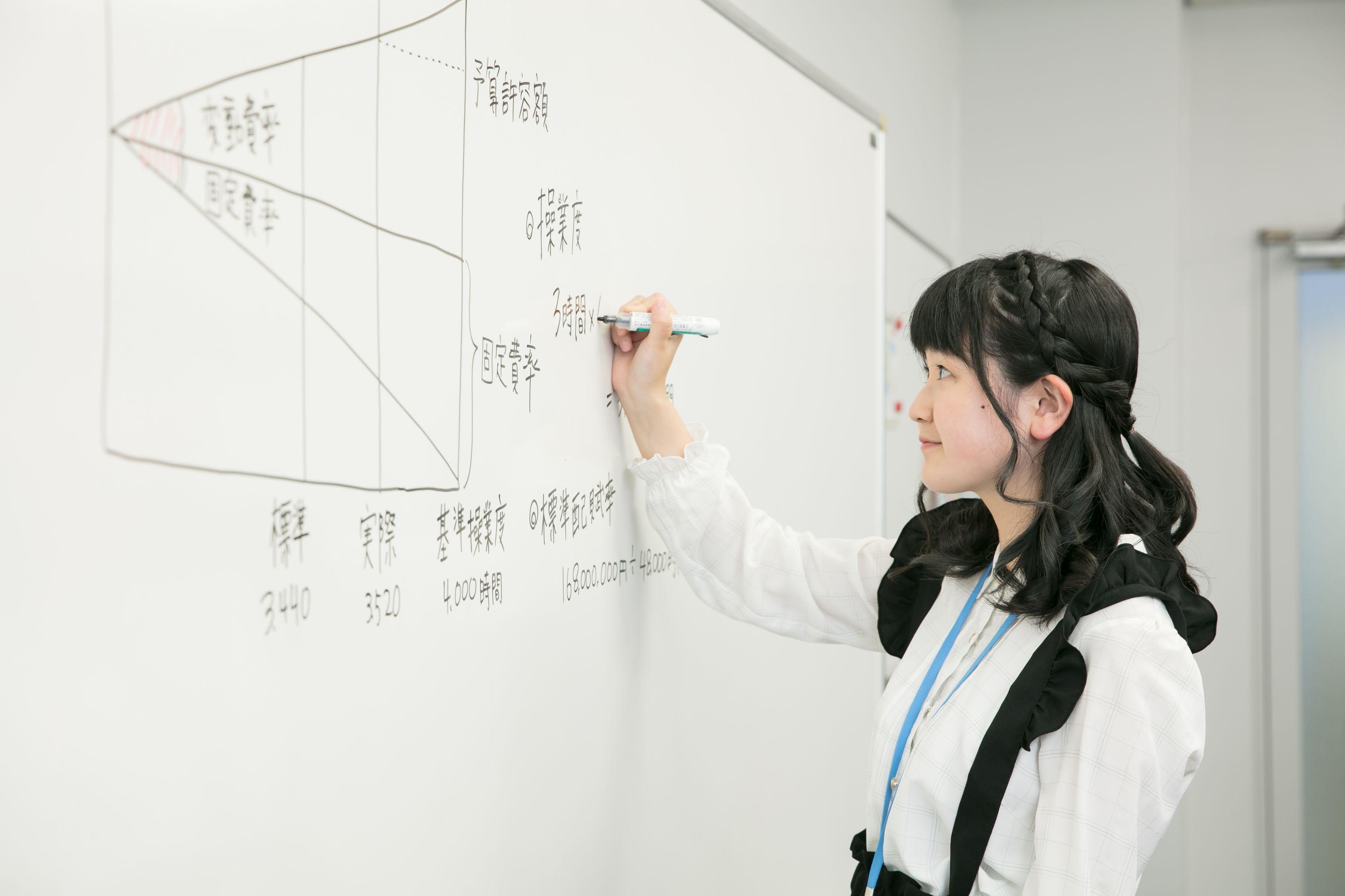 情報ビジネス科授業風景02