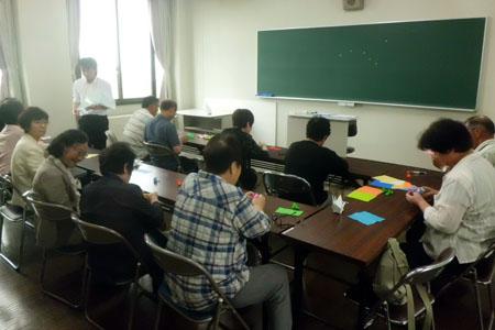 講座:江戸時代の折り紙~古典千羽鶴~ 講師は本学の学生です