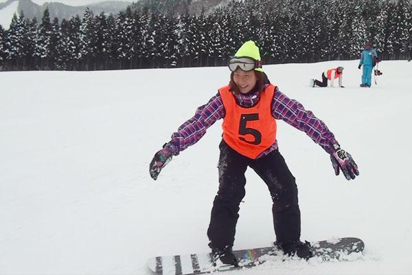 スノーボードに挑戦