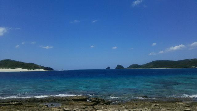 慶良間諸島無人島の安慶名敷島