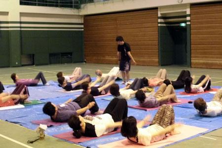 講座:体感を知ろう~お家で簡単、体幹トレーニング~