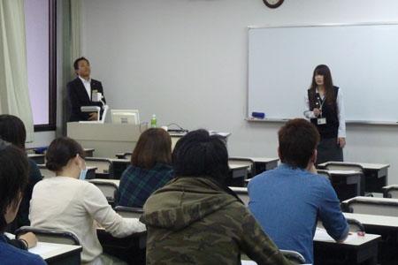 OGによる講義(滋賀ダイハツ販売(株))