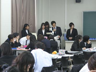 基礎看護学実習の報告会