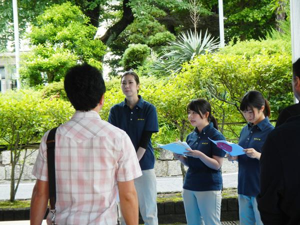 熊本地震で話題になったエコノミー症候群の説明をしました