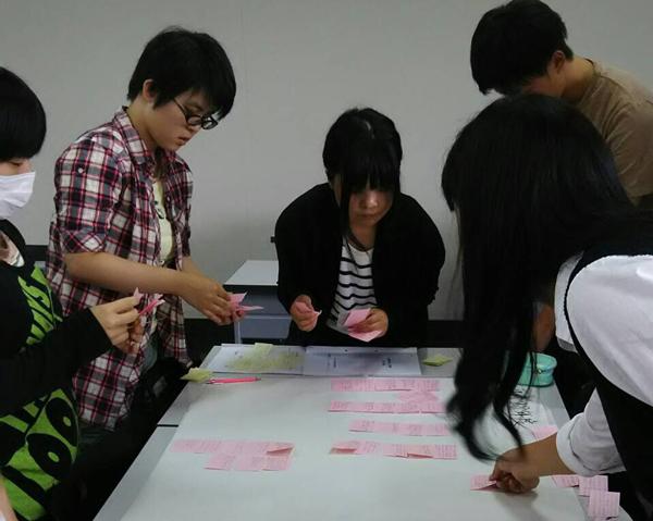 グループワークで学びをまとめました