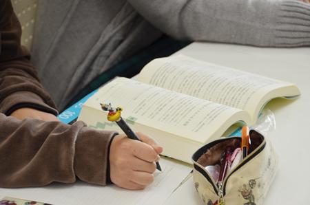 参考書を使って猛勉強